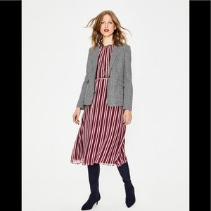 Boden Elizabeth British Tweed Blazer, size 6